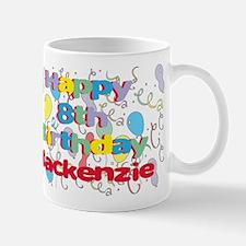 Mackenzie's 8th Birthday Mug