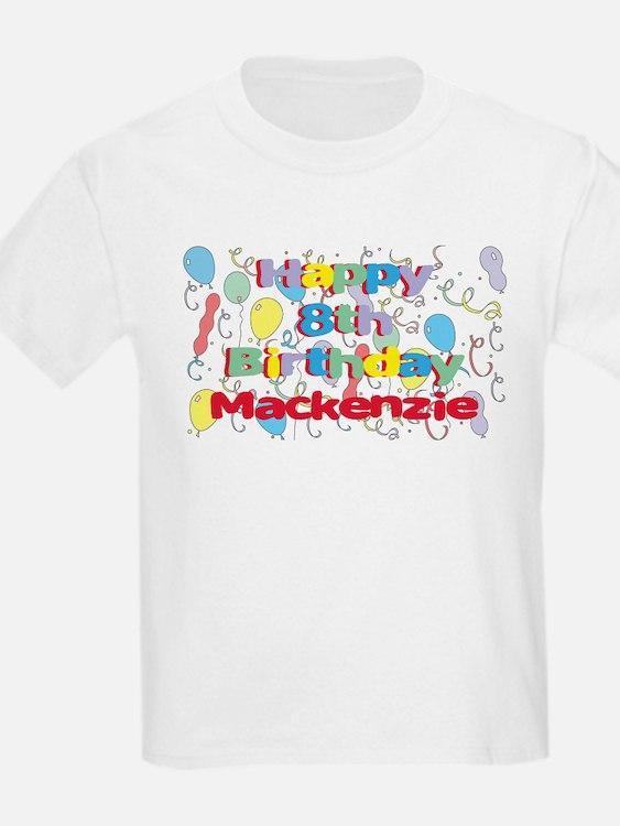 Mackenzie's 8th Birthday T-Shirt