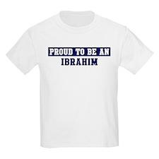 Proud to be Ibrahim T-Shirt