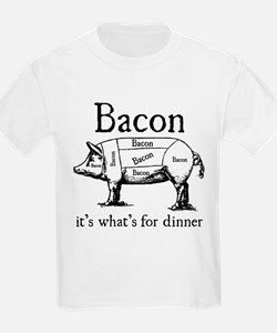 Bacon: It's what's for dinner T-Shirt