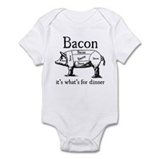 Bacon: It's what's for dinner Infant Bodysuit