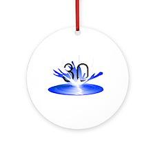 30 Ornament (Round)