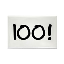 100 Rectangle Magnet (100 pack)