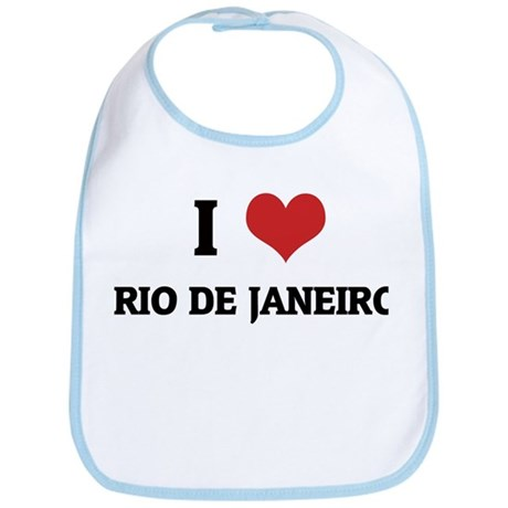 I Love Rio De Janeiro Bib