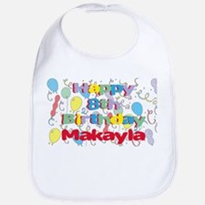 Makayla's 8th Birthday Bib