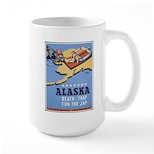 Alaska - Death-Trap for the Jap Poster Mug
