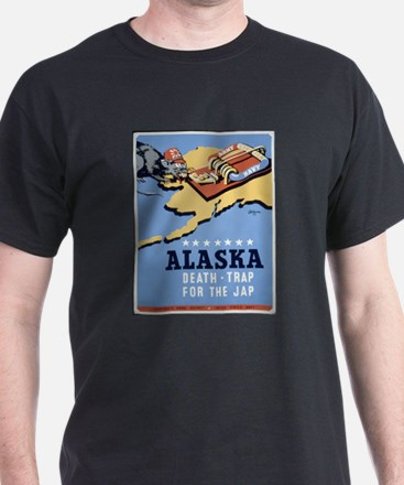Alaska - Death-Trap for the Jap Poster T-Shirt