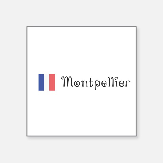 Montpellier Sticker