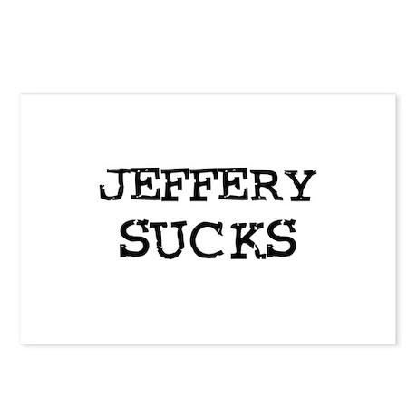 Jeffery Sucks Postcards (Package of 8)