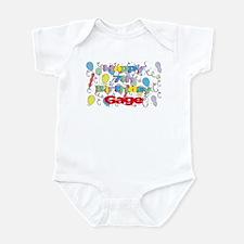 Gage's 7th Birthday Infant Bodysuit