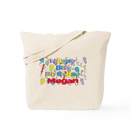 Megan's 8th Birthday Tote Bag