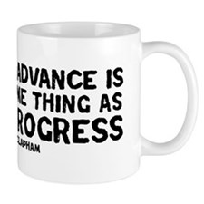 Quote - Clapham - Human Progress Mug