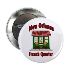 New Orleans French Quarter Ca Button