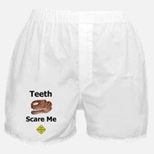 Teeth Scare Me Boxer Shorts