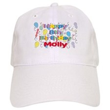 Molly's 8th Birthday Baseball Cap