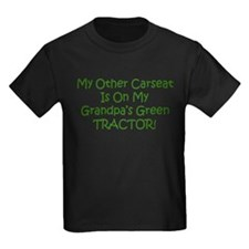 Carseat Grandpas Green Tractor T