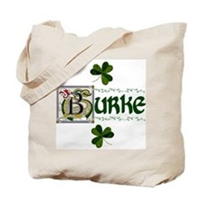 Burke Celtic Dragon Tote Bag