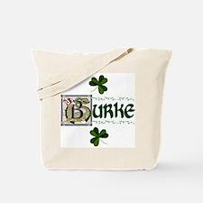 Burke Celtic Dragon Tote Bag