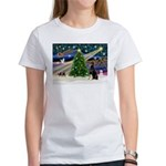 XmasMagic/Dobie (1) Women's T-Shirt