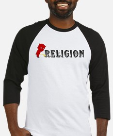 Piss On Religion Baseball Jersey