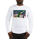 Xmas Magic & Collie Long Sleeve T-Shirt