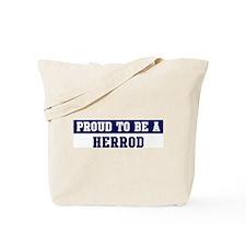 Proud to be Herrod Tote Bag