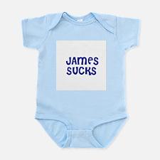 James Sucks Infant Creeper