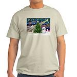 Xmas Magic & Coton De Tulear Light T-Shirt