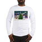 Xmas Magic & Coton De Tulear Long Sleeve T-Shirt