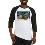Xmas Magic & Chow Baseball Jersey