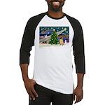 Christmas Magic & Shar Pei #2 Baseball Jersey