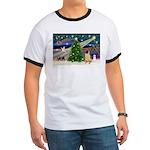 Christmas Magic & Shar Pei #2 Ringer T