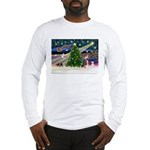 XmasMagic/Crested (#1) Long Sleeve T-Shirt