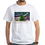 XmasMagic/Crested (#1) White T-Shirt