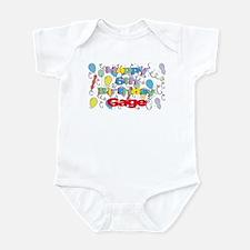 Gage's 6th Birthday Infant Bodysuit