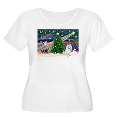 Xmas Magic & Eskimo Spitz T-Shirt