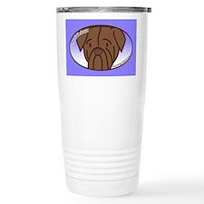 Anime Dogue de Bordeaux Travel Mug
