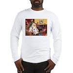 Santa's Eskimo Spitz Long Sleeve T-Shirt