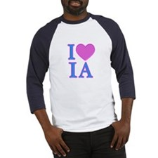 I Love IA Baseball Jersey