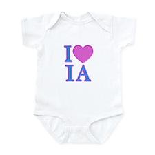 I Love IA Infant Bodysuit