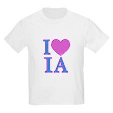 I Love IA T-Shirt