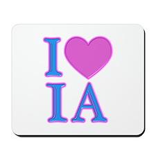 I Love IA Mousepad
