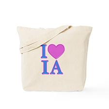 I Love IA Tote Bag