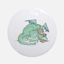 Baby Dragon Ornament (Round)