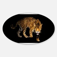 Jaguar Oval Decal