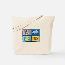 Incy Wincy Spider Tote Bag