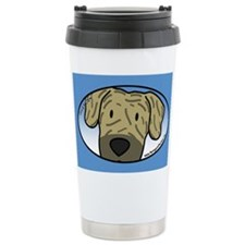 Anime Brindle Great Dane Travel Mug