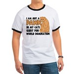 Cat's World Domination Ringer T