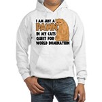 Cat's World Domination Hooded Sweatshirt
