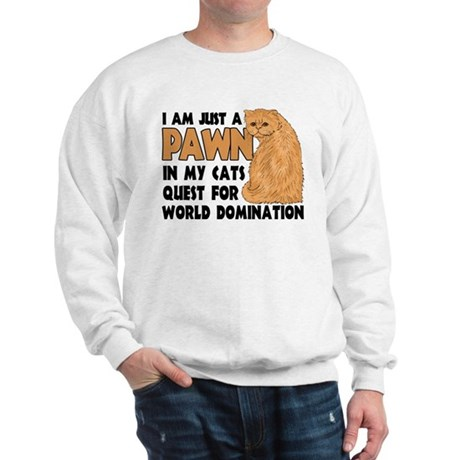 Cat's World Domination Sweatshirt